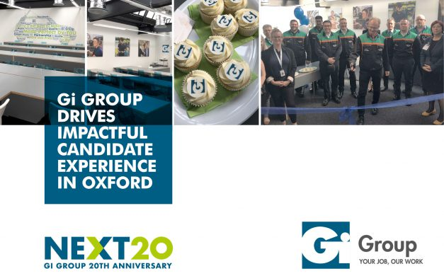 Gi GROUP DRIVES IMPACTFUL CANDIDATE EXPERIENCE IN OXFORD