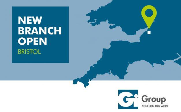 Gi GROUP UK OPENS MAJOR BRISTOL OFFICE