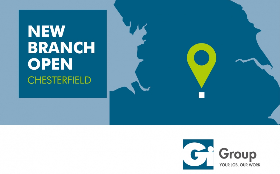 CONTINUED GROWTH SEES GI GROUP CHESTERFIELD RELOCATE TO NEW BRANCH