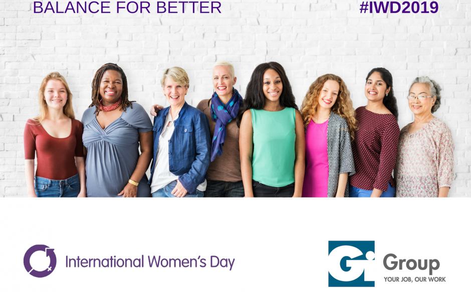 WHY GI GROUP IS SUPPORTING INTERNATIONAL WOMEN'S DAY
