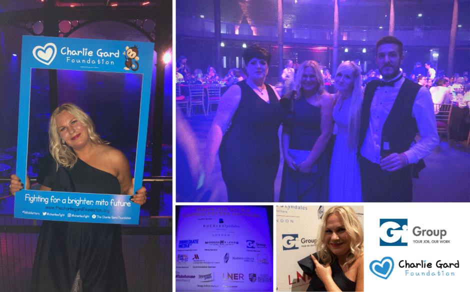 Gi Group sponsors Charlie Gard Foundation Charity Ball