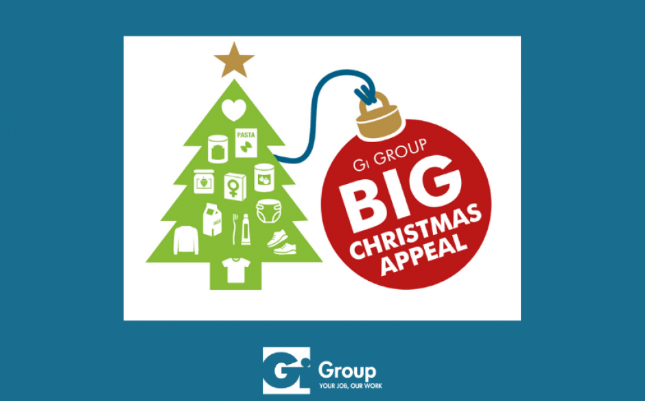 Big Christmas Appeal: Gi Group collaborates with local food banks to give people a better Christmas.