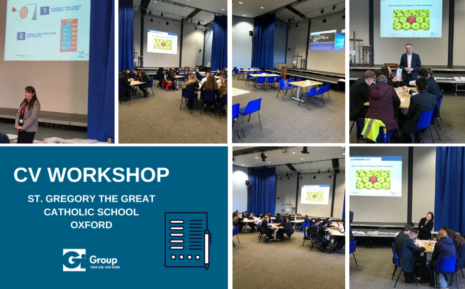 Gi GROUP HOSTS A CV WORKSHOP FOR YEAR 10 STUDENTS