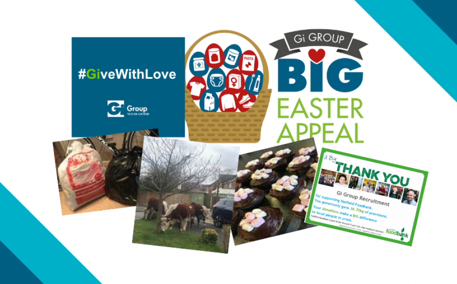 Big Easter Appeal – Gi Group keeps #GivingWithLove