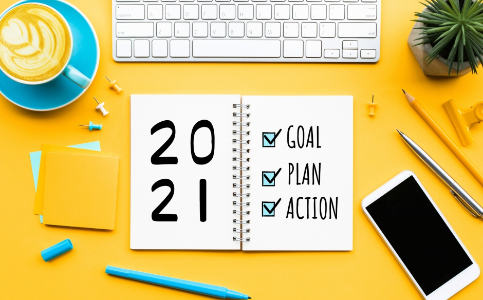 5 steps for setting goals for 2021