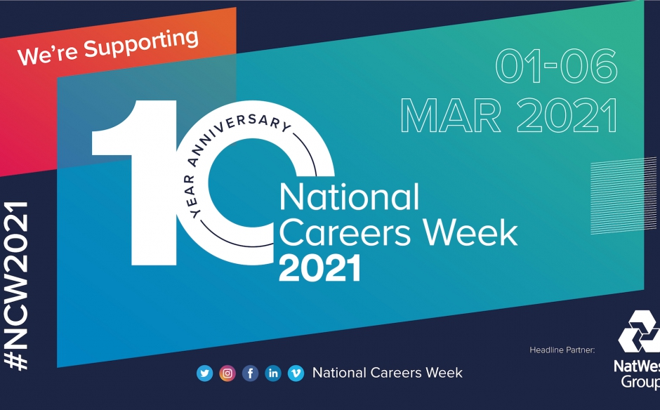 National Careers Week 2021: Your available resources